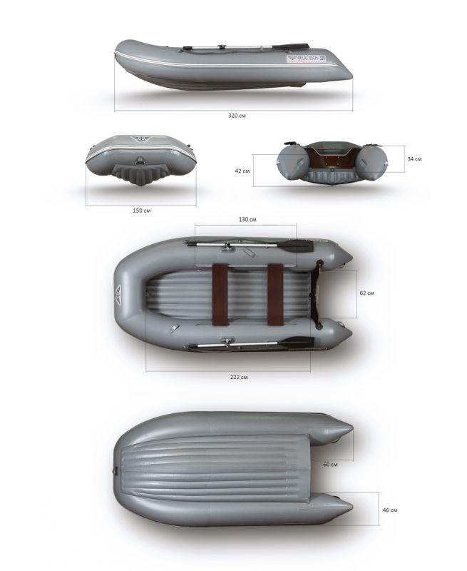 лодки пвх с нднд флагман 300 купить