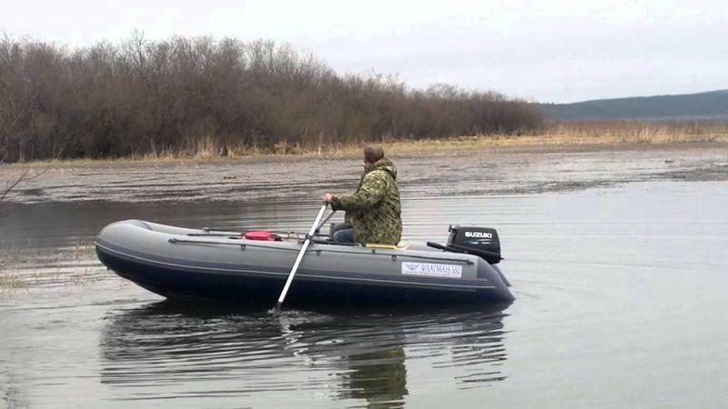 лодка 380 с мотором 9.9