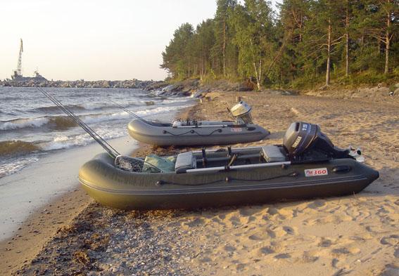 лодка пвх берег