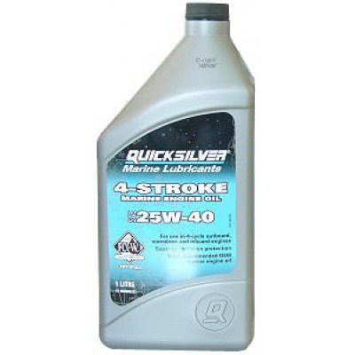 Моторное масло 4-stroke Marine Engine Oil SAE 25W-40 1 л